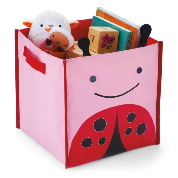 coffre-à-jouets-textile-rose-pour-une-fille