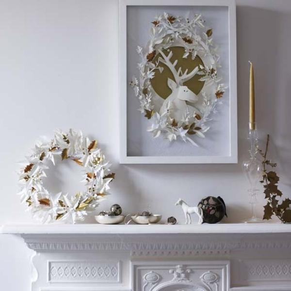 comment-faire-la- déco-de-Noël-en -blanc