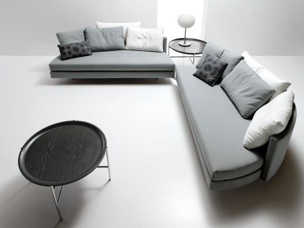 cool-design-du-canapé-rond-en-gris