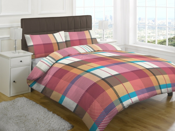le couvre lit patchwork est une jolie finition pour votre. Black Bedroom Furniture Sets. Home Design Ideas