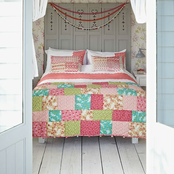 couvre-lit-patchwork-country-style-chambre