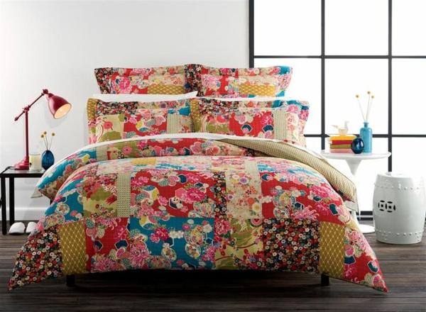 couvre-lit-patchwork-très-joli