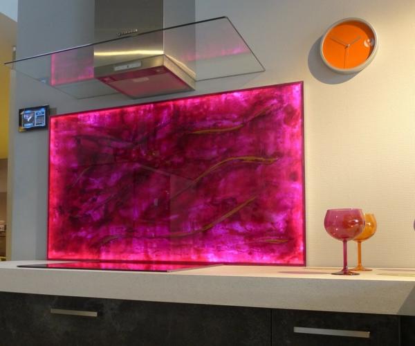 La crédence en verre pour la cuisine - Archzine.fr