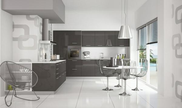 La cuisine schmidt est synonyme de style et de praticit for Cuisine sol blanc