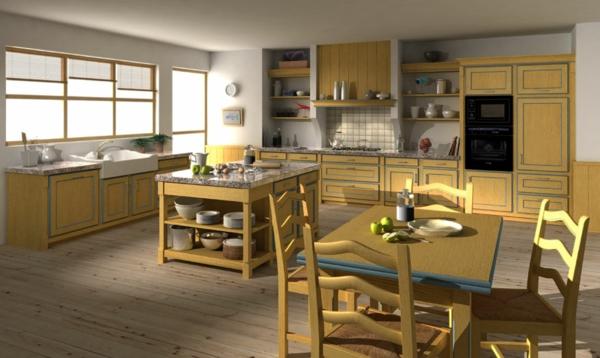 Cuisine couleur moutarde ~ Image Sur le Design Maison