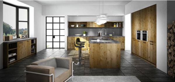 Stunning Cuisine Carrelage Sol Noir Contemporary - Design Trends ...