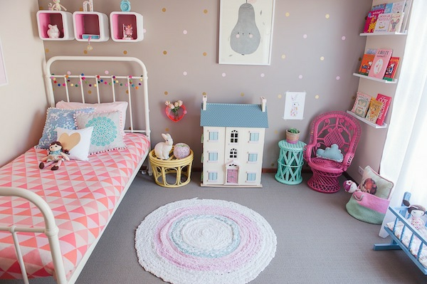 Awesome Chambre Fille Vintage Ideas - Matkin.info - matkin.info