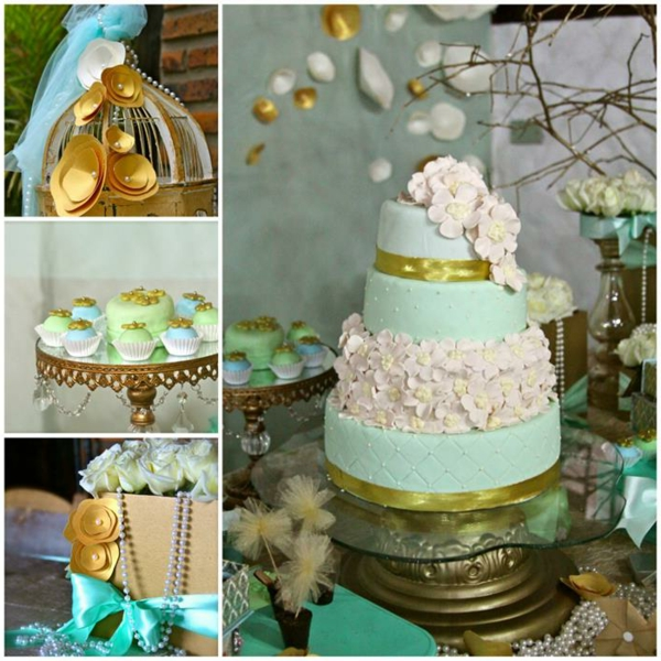 décoration-de-baptême-de-gâteau