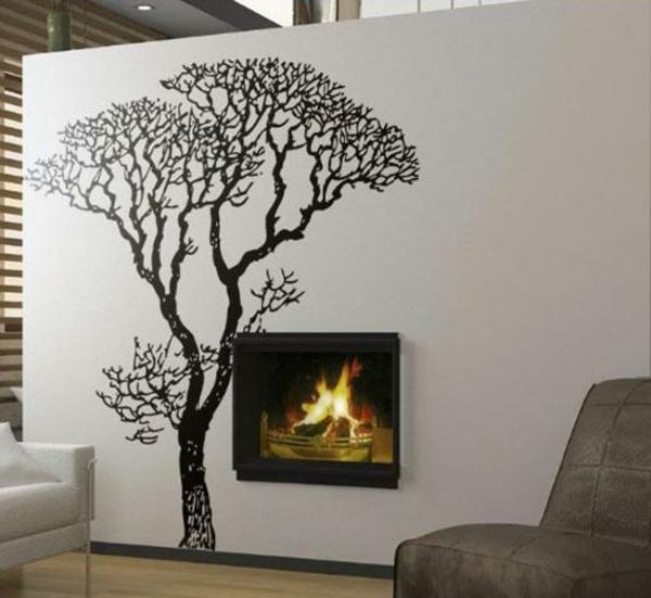 Propositions de d coration murale originale for Decoration murale arbre