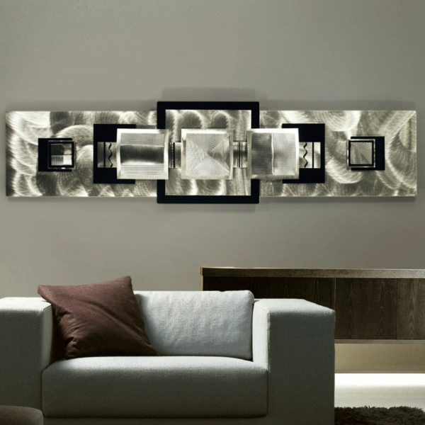 Deco murale originale metal for Decoration murale en metal