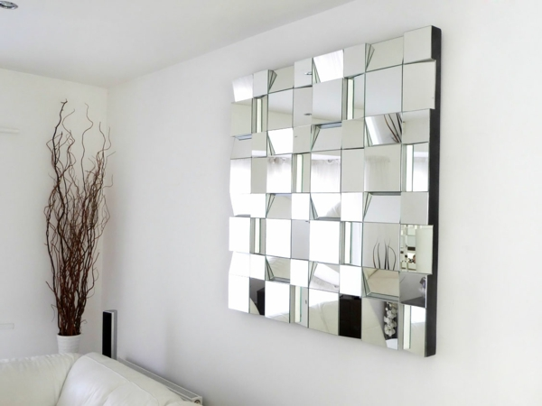 Firebrandcattery Creating Oversized Wall Mirrors: Propositions De Décoration Murale Originale
