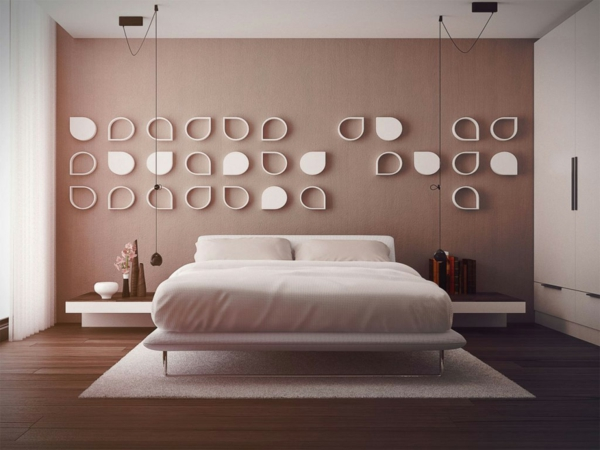 décoration-murale-originale-en-couleurs-blanche-et-chocolat