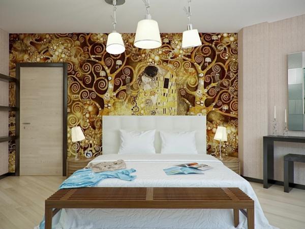 décoration-murale-originale-Gustave-klimpt
