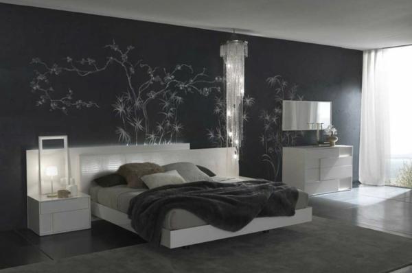 décoration-murale-originale-mur-noir