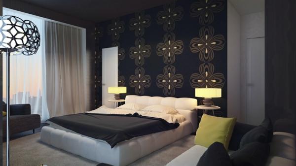 décoration-murale-originale-papier-peint-motifs-floraux