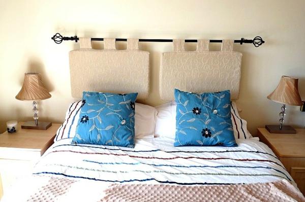 La t te de lit en coussin - Coussin pour tete de lit pas cher ...