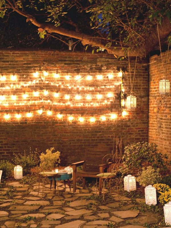 Comment d corer le guirlande lumineuse ext rieur for Decoration de noel pour terrasse