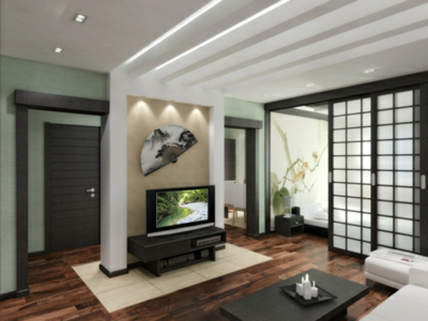 un paravent japonais id e fra che. Black Bedroom Furniture Sets. Home Design Ideas
