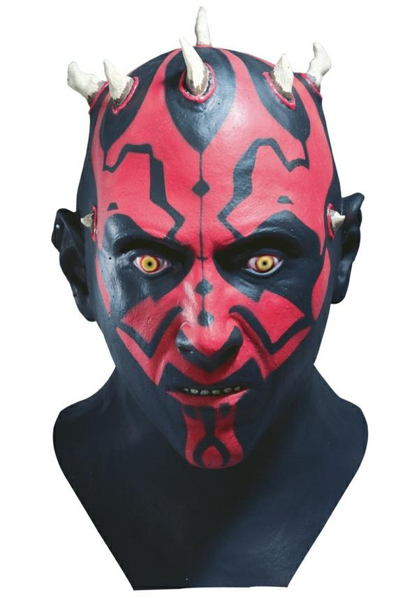 Une id e de d guisement halloween la masque - Deguisement facile halloween ...