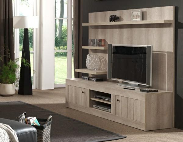 Mod les de meuble tv en bois for Meubles york