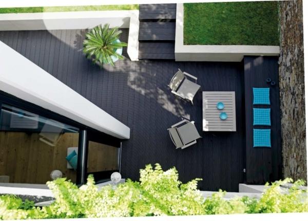 une technique très convenable pour la terrasse et autour du piscine