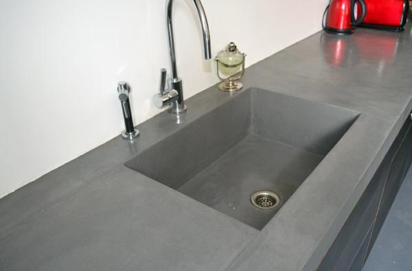 le b ton cir dans la maison moderne. Black Bedroom Furniture Sets. Home Design Ideas