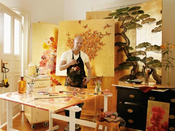 faire un paravent japonais. Black Bedroom Furniture Sets. Home Design Ideas