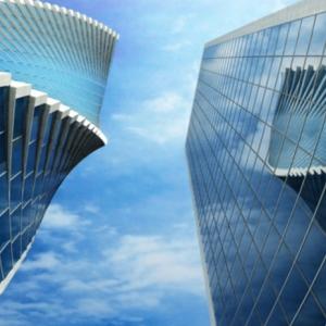 L'architecture futuriste et les parcs des Expositions