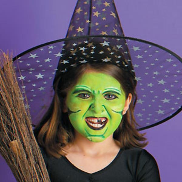 Maquillage sorciere enfant
