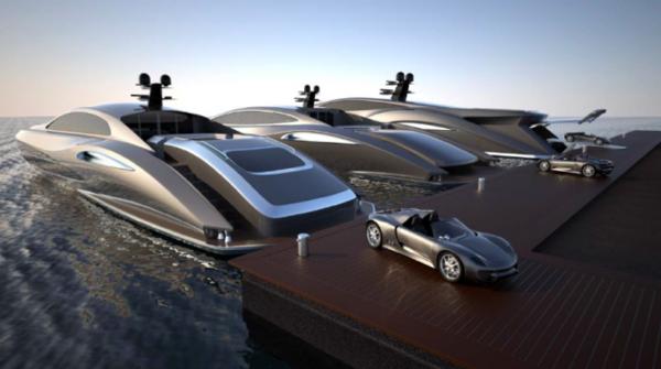 foncé-yacht-de-luxe-a-vendre