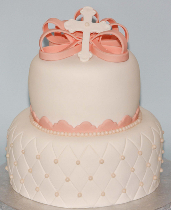 Cool d coration de bapt me pour une princesse - Decoration gateau bapteme fille ...