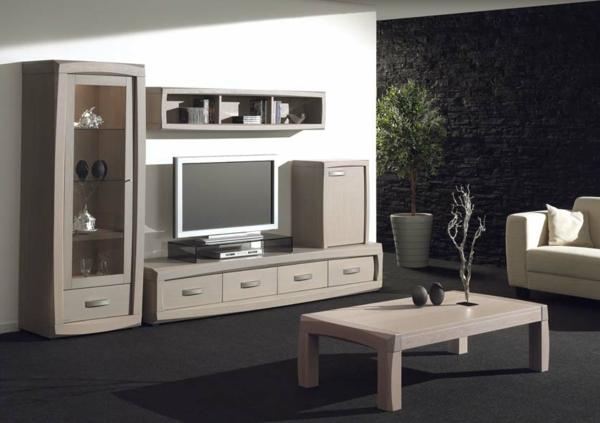 gris-modèle-meuble-tv-en-bois