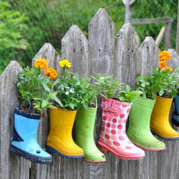 idée-déco-de-jardin-chaussures-