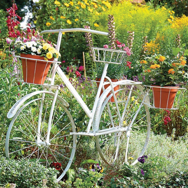 R cup pour ext rieur id e d co de jardin for Decoration jardin velo