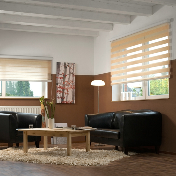 les stores jour et nuit dans tous les chambres. Black Bedroom Furniture Sets. Home Design Ideas