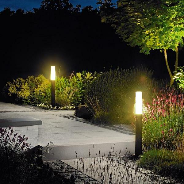 Unique potelet ext rieur pour le jardin - Potelet eclairage exterieur ...