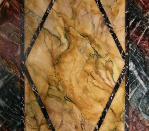 la-peinture-trompe-l' oeil-imitation-de-marbre-exemple-de-faux-marbre