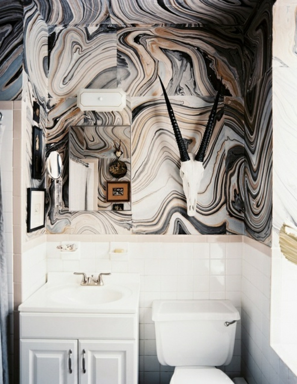 la peinture trompe l 39 oeil imitation de marbre transformez vos int rieurs d 39 une mani re. Black Bedroom Furniture Sets. Home Design Ideas