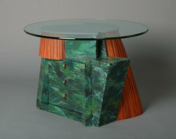 la-peinture-trompe-l' oeil-imitation-de-marbre-une-table-et-peinture-artistique