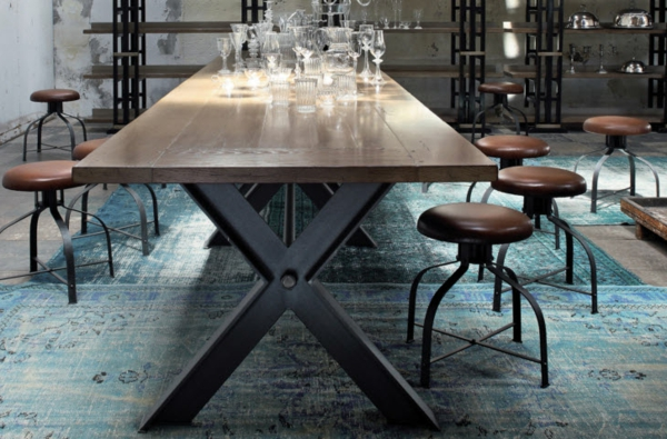 la-table-roche-bobois-table-en-bois-solide