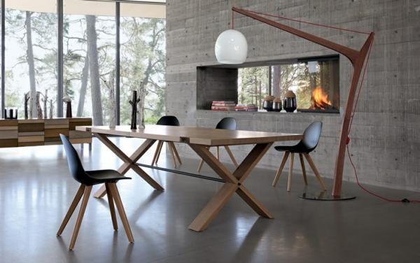 Table Bois Roche Bobois