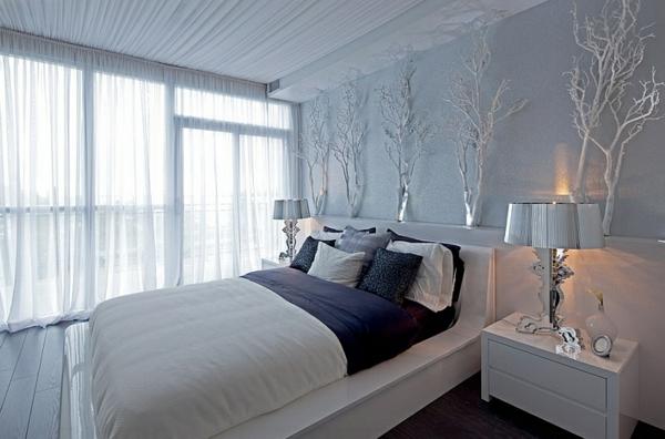 lampe-bourgie-chambre-à-coucher-moderne-magnifique