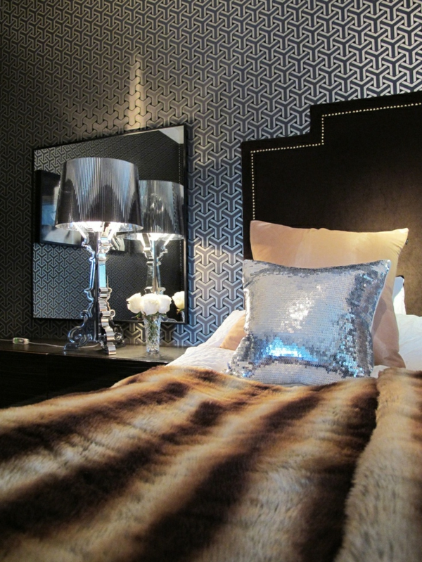 good with lampe de chambre a coucher. Black Bedroom Furniture Sets. Home Design Ideas