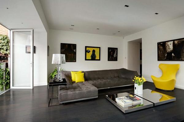 lampe-bourgie-salle-de-séjour-contemporaine