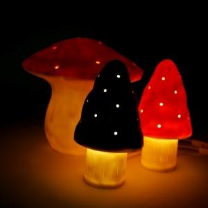 La magie de la lampe champignon
