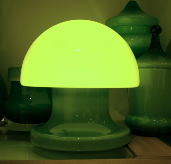 lampe-champignon-verte