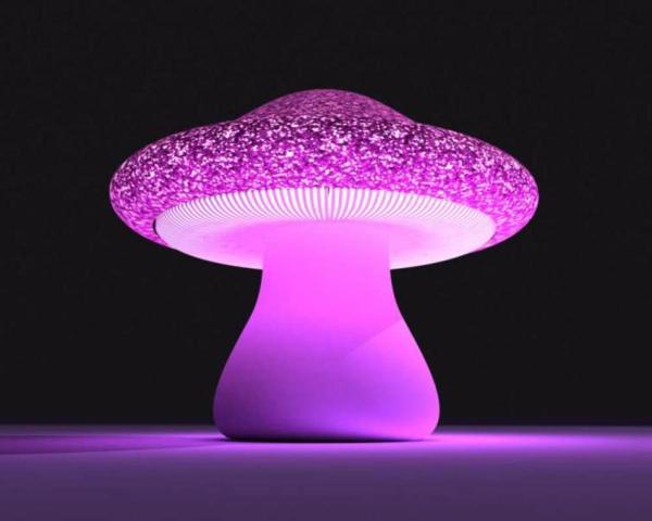 lampe-champignon-lilas