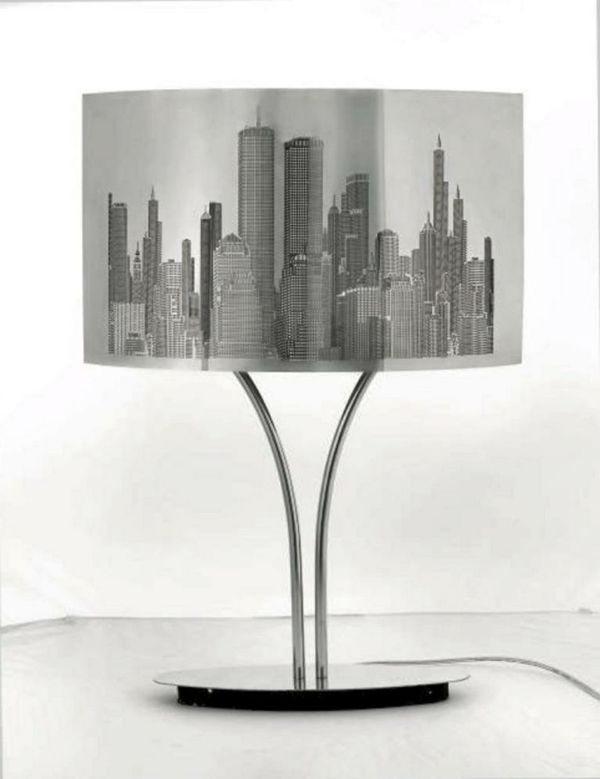 La lampe de chevet new york l gance et praticit for Table de nuit new york