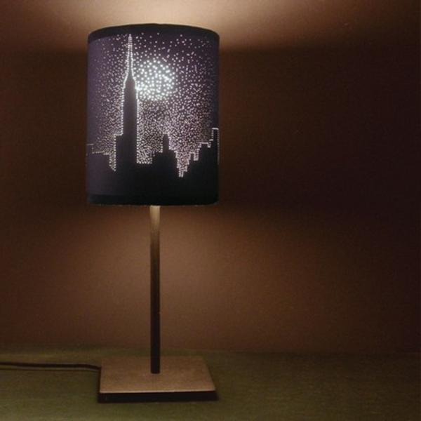 La lampe de chevet new york l gance et praticit for La lampe de chevet