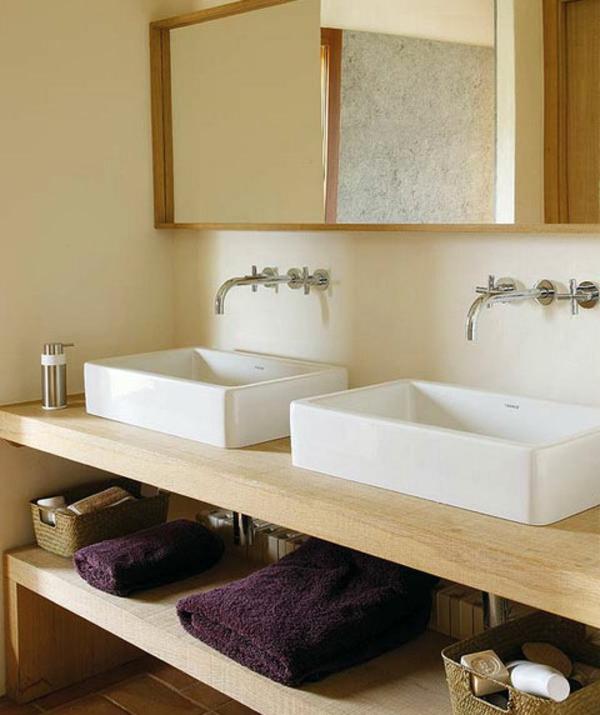 Le lavabo à double vasque pour votre salle de bains - Archzine.fr